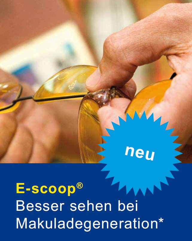 E-Scoop Lupenbrille